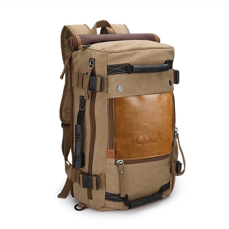 Amazon.com | OXA Travel Hiking Camping Backpack, Duffle Backpack ...
