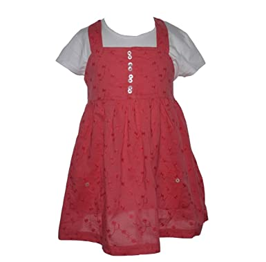 436ada6a7eeb Mini Boden coral broderie anglais Top  Amazon.co.uk  Clothing