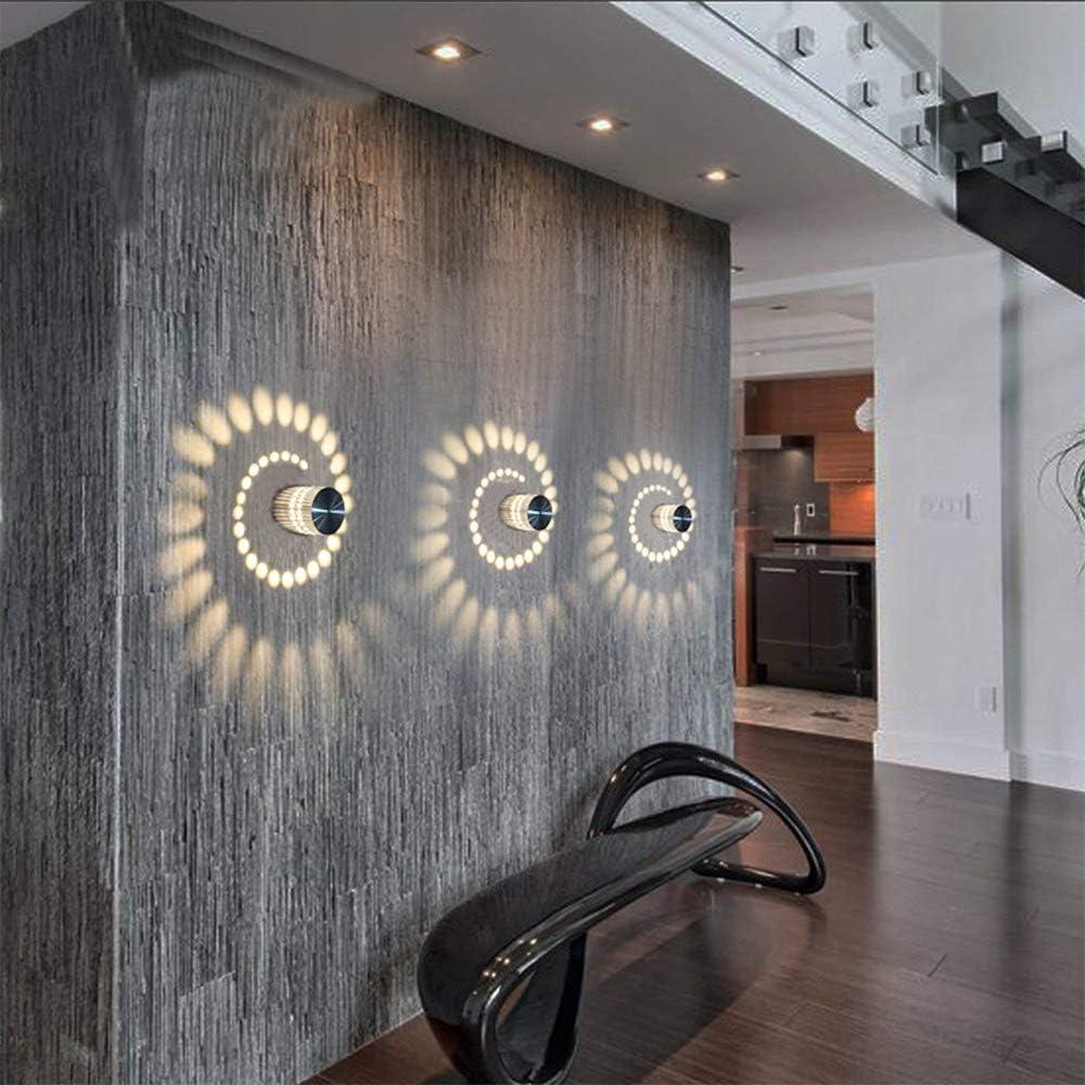 Plaf/ón LED L/ámpara de pared L/ámpara de pared regulable pared interior luz piso bombilla espiral efecto para piso Dormitorio Balc/ón Sal/ón Ba/ño Escaleras Pasillo l/ámpara techo foco
