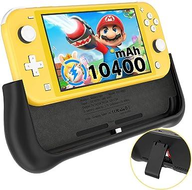 Newdery - Cargador de batería 10000 mAh para Nintendo Switch Lite ...