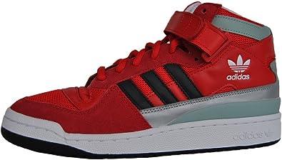 adidas Forum Mid RS Winterized - Zapatillas para Hombre, Color Rojo/Blanco/Negro, Talla 46 2/3: Amazon.es: Zapatos y complementos