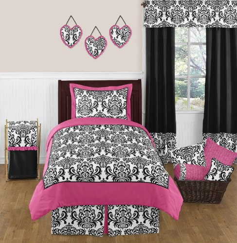 hot pink and black print comforter bedding sets for 14602 | 619ii8ghg0l