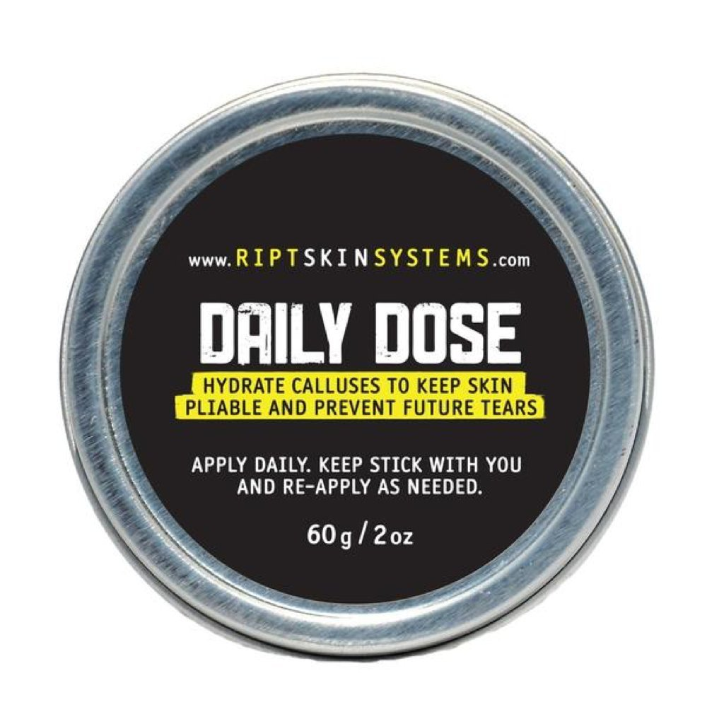 DAILY DOSE - Mega Tin - 100% All Natural Hand Care - For Athletes: CrossFit, Gymnastics, Weightlifting, Kettlebells, Gym-Goers - Repair Ripped, Damaged Hands - Fix Blisters & Calluses - Hand Care … RIPT Skin Systems