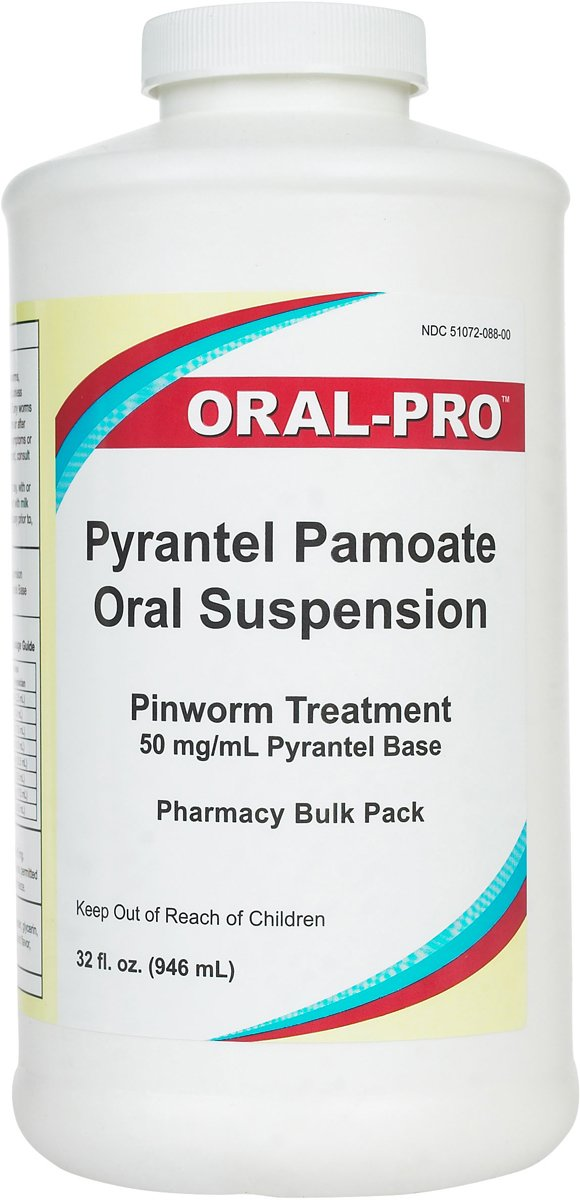 Aurora 50Mg/Ml Oral Pro Pyrantel Pamoate Oral Suspension, 32 Ounce, White by Oral-Pro