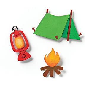 Embellish Your Story Camping Magnets - Set of 3 Assorted - Embellish Your Story Roeda 17476-EMB