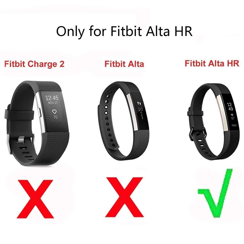 XZANTE para Fitbit Alta HR Cargador con El Botón De Reinicio ...