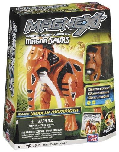 Mega Bloks Magnext Magna Saurs Wooly Mammoth (Skin And Bones Set)