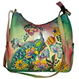 Charmeine Women's Leather Shoulder Bag Painted 38 cm x 33.2 cm x 12 cm Multi Color