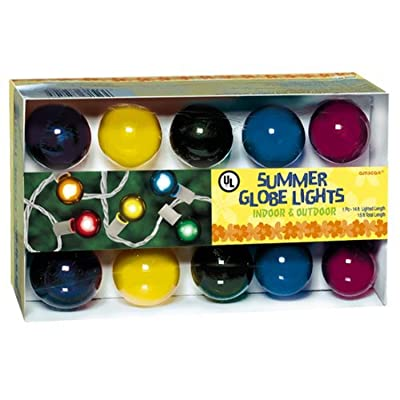 amscan Party Summer Globe Light Set: Garden & Outdoor