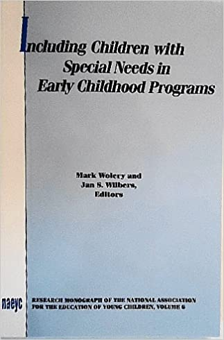 Early Childhood Research Needs Update >> Including Children With Special Needs In Early Childhood Programs