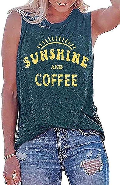 Sunshine and Coffee Tank Top