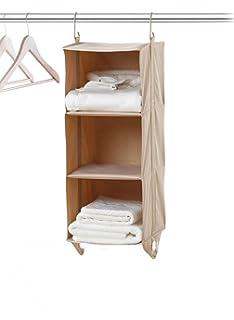 Neatfreak 5614 ST 3 Shelf Hanging Closet Organizer ClosetMAX Storage  Universal