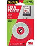 Fita Dupla Face 3M Scotch Fixa Forte Espuma - 12 mm x 1,5 m