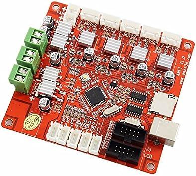Ils - V1.0 Placa Base para Impresora 3D ANET Reprap Mendel ...