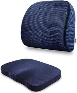 وسادة كرسي للدعم وتخفيف الضغط على الظهر والمقعد