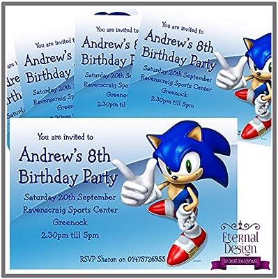Eternal Design - Invitaciones de cumpleaños personalizadas ...