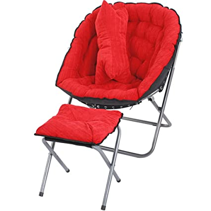 Furniture Comfy Chair Lazy Boy Recliner With Foot Rest, Soft Padded Club  Chair, Metal