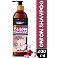 POSITIVE Root Therapy + Red Onion Shampoo for Hair Growth | SLES & PARABEN FREE | 200 ML