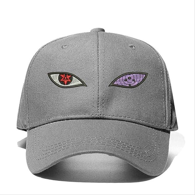 ASPW Wig Anime Naruto Uchiha Sasuke Sharingan & Rinnegan Eye Gorra ...