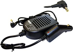 Power4Laptops DC Adapter Laptop Car Charger Compatible with Asus B1000, Compal ACL00, Dell F9710, Dell Inspiron 1300, Dell Inspiron 1300-b130