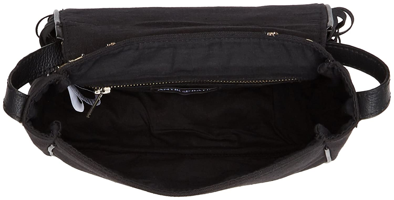 Antik Batik Ziggy Bag Womens Cross Body Noir Black 5x20x24 Cm Satchel W X H L Handbags
