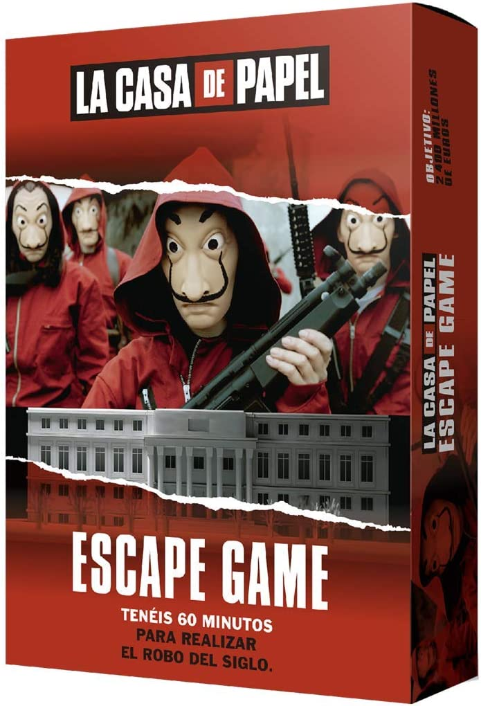 Larousse-La Casa de Papel: Escape Game-Español, Multicolor, Talla ...
