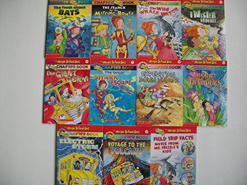Magic School Bus Science (10 Set) Whale; Twister; Germ; Shark; Insect; Electric; Volcano (Magic School Bus Electric Storm)