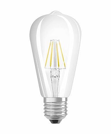 Osram Retrofit Bombilla LED, E27, 4 watts, Blanco, 1 Unidad
