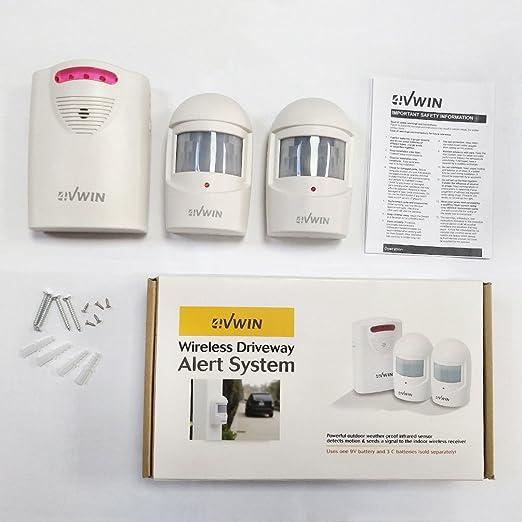4VWIN Seguridad Para el hogar Alerta inalámbrica de la ...