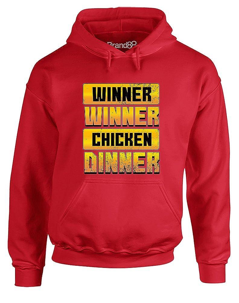 Adults Hoodie Chicken Dinner Brand88