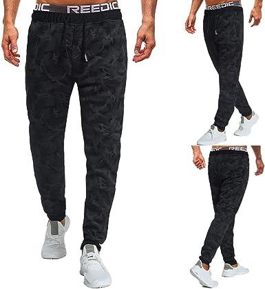 Memefood Straight-fit Cargo Pant Casual-Pants Hombre Pantalones de ...