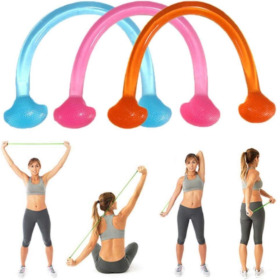 babyzhang 1 ST/ÜCK Silikon Fitness Yoga Pull Expander Silikon-Widerstandsb/änder Fitness Elastische Dehnungs-Widerstandsb/änder Zugseil 1