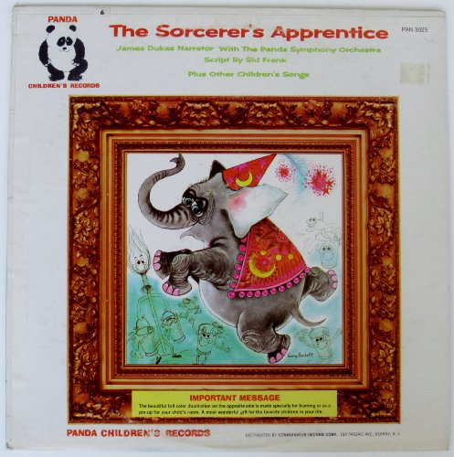 Price comparison product image The Sorcerer's Apprentice Plus Other Children's Songs (Panda Children's Records)