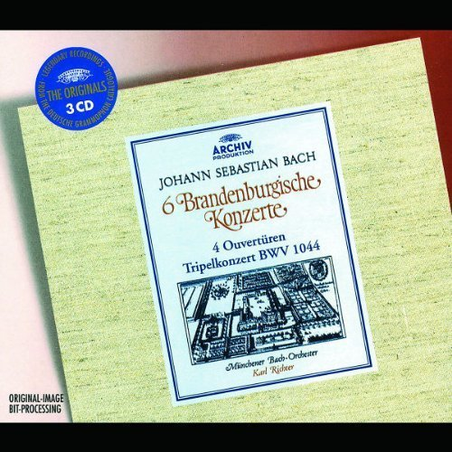 Price comparison product image Brandenburg Concertos Nos. 1-6, Orch Suites, Triple Concerto by Bach, J.S. Import edition (2002) Audio CD
