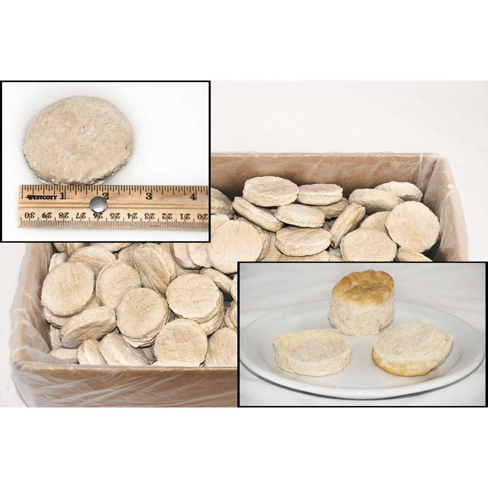 General Mills Pillsbury Unbaked Southern Style Easy Split Biscuit Dough, 2.2 Ounce -- 216 per case.