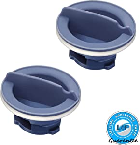Lifetime Appliance 2 x 8558307 Dispenser Cap Compatible with Whirlpool Dishwasher - WP8558307