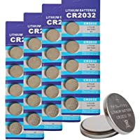 CR2032 3V Lithium Button Cell Coin Battery - Long Lasting Working Span Round Battery Specially Made for Remotes…