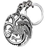 Noble Collection - Llavero Juego de Tronos Logo Targaryen ...