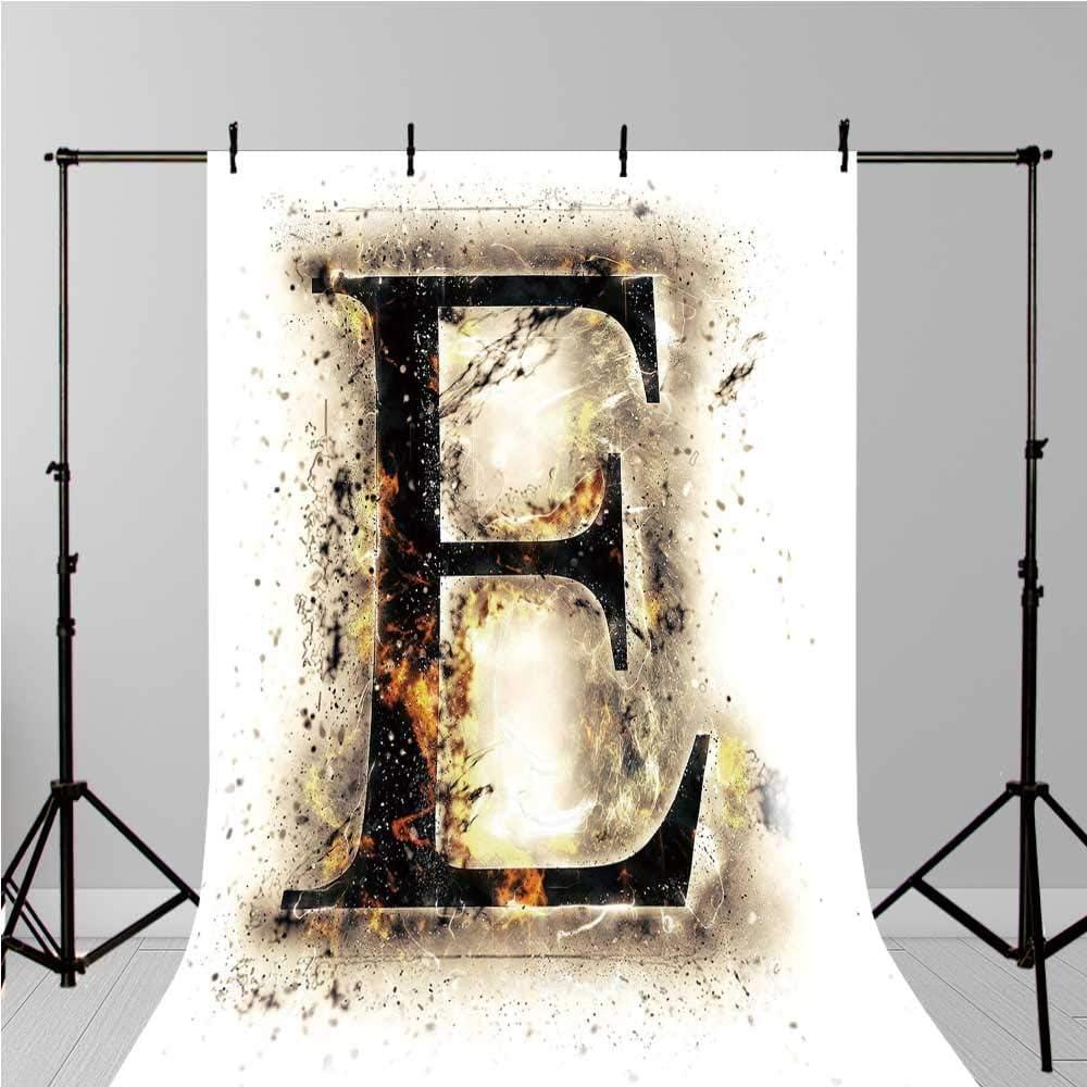 Letra E Elegante telón de Fondo, Letra E en Llamas Hot Fire ...