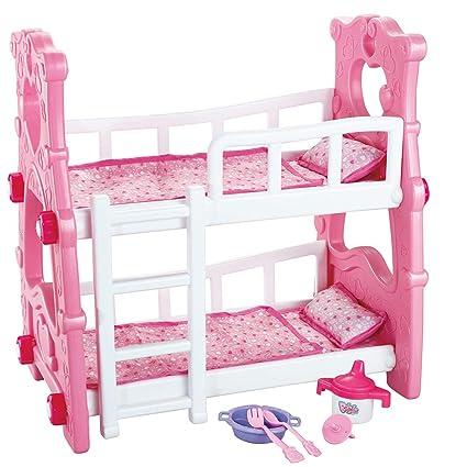 Letti A Castello Rosa.Baby Doll Letto A Castello Rosa Regalo Di Natale Giocattolo Per