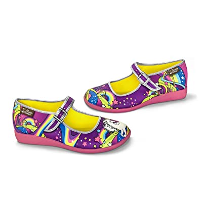 2772f142f4e7 Hot Chocolate Design Chocolaticas Lucy in The Sky Women s Mary Jane Flat   Amazon.co.uk  Shoes   Bags