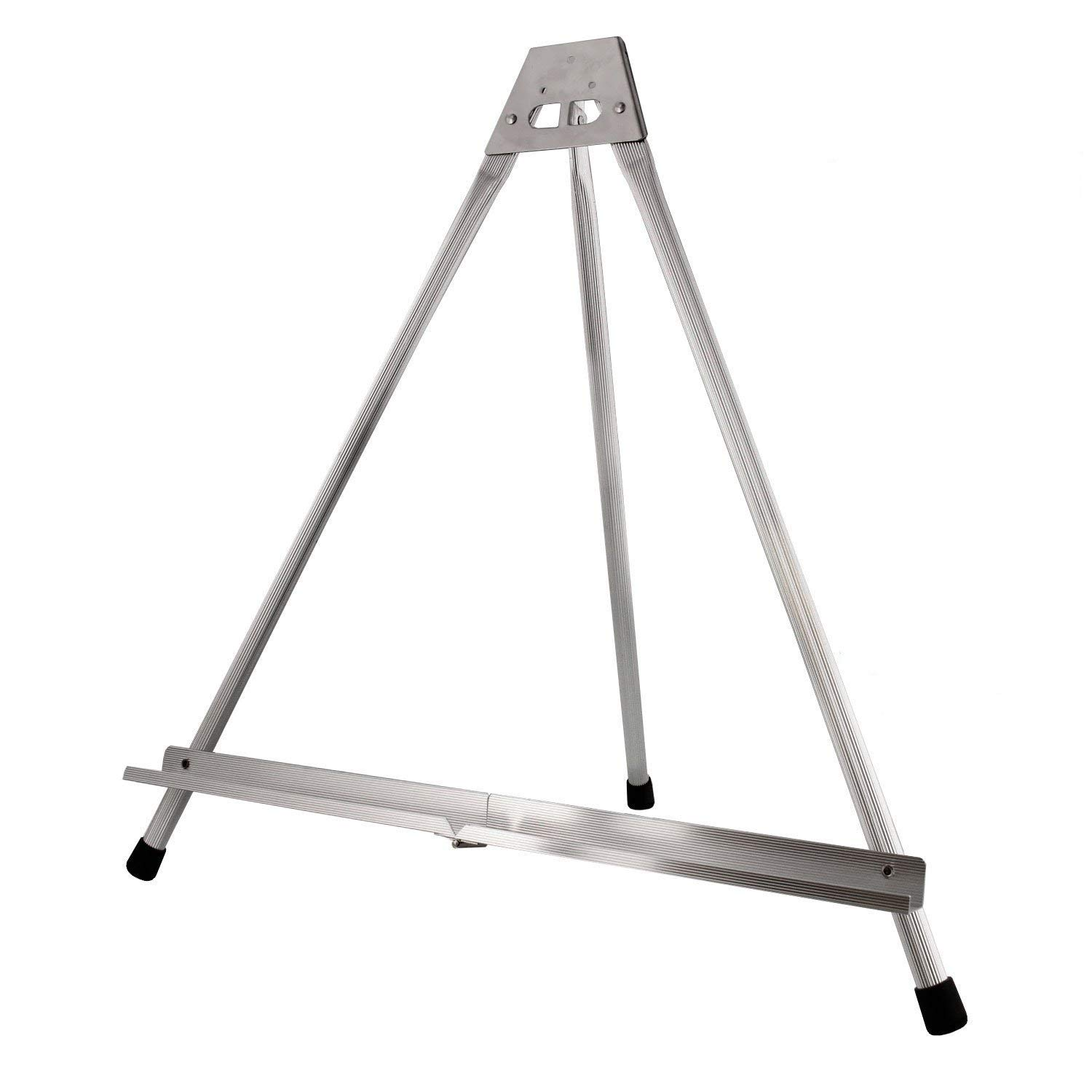 Brustro Aluminum Tabletop Easel Tri-Pod Design with Rubber Feet Canvas Holds Upto 18