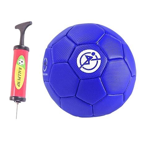 IPOTCH Balón de Fútbol 1 Pieza Tamaño 2 Fabricado en PVC Caucho ...