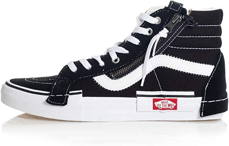 chaussures vans noires et blanche