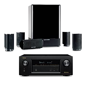 harman kardon home theatre. harman kardon hkts 15 5. 1-channel home theatre speaker system with denon avr o
