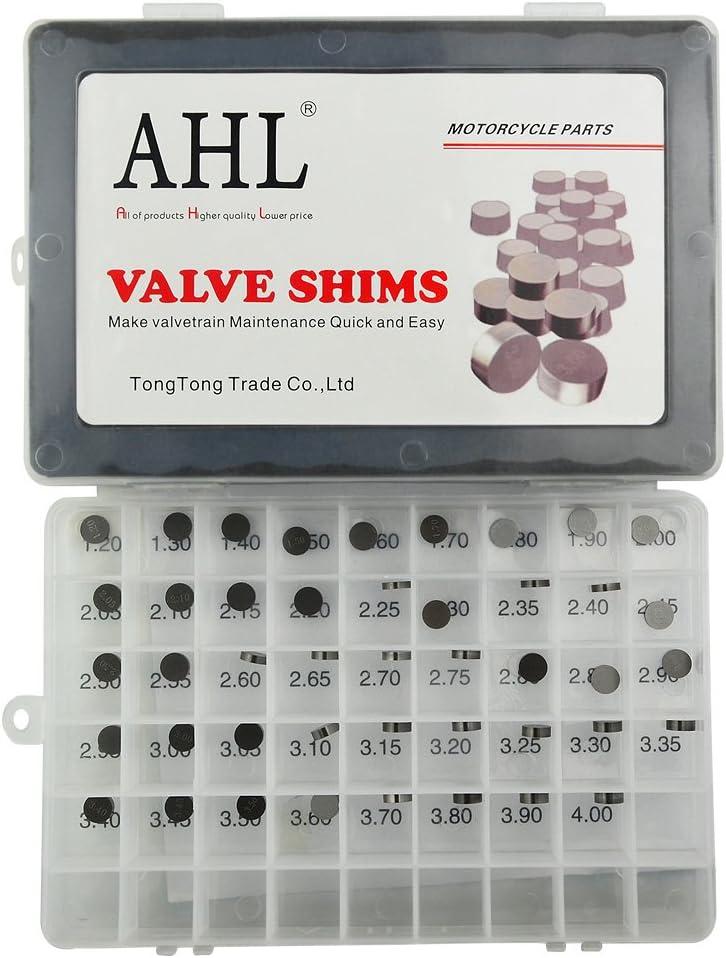 52pcs for Yamaha YZ450F YZ450 F 2003-2012 AHL Adjustable Valve Shim Kit 9.48mm O.D