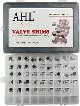 for Yamaha YZ450F YZ450 F 2003-2012 AHL Adjustable Valve Shim Kit 9.48mm O.D 52pcs