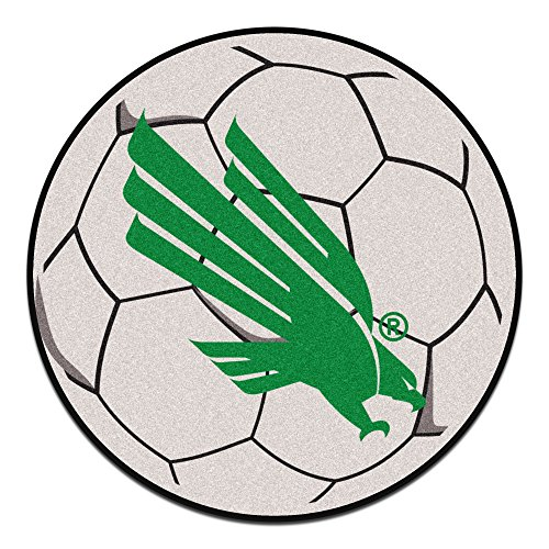 Fanmats 2794 North Texas Soccer Ball, Team Color, 27'' Diameter by Fanmats