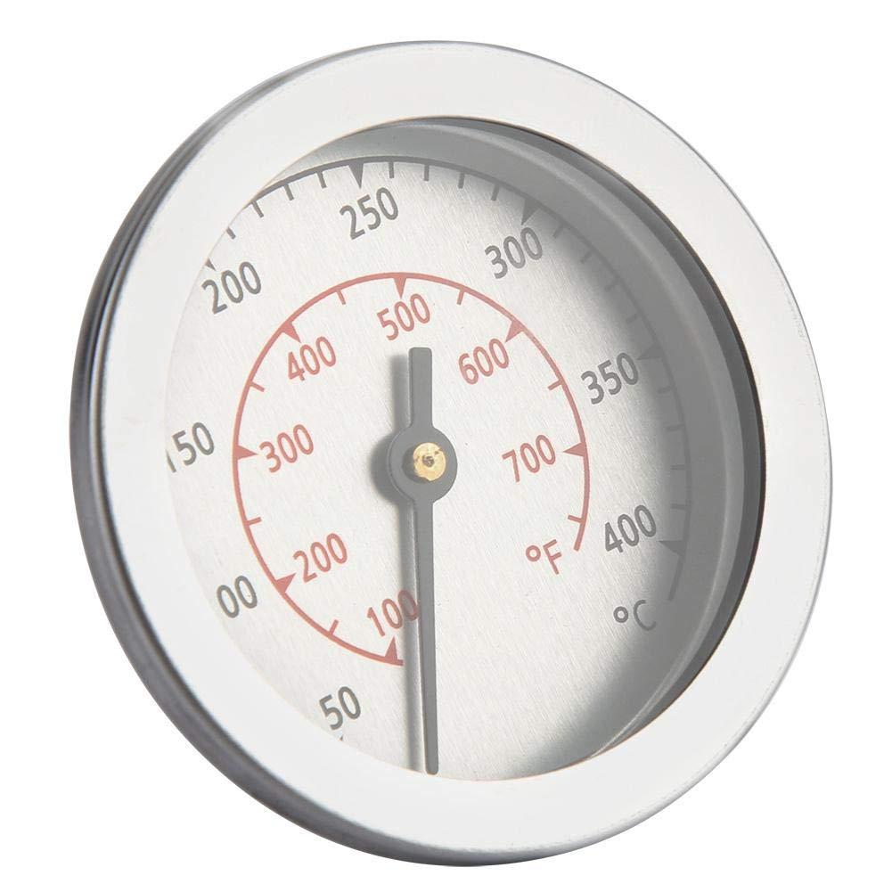 100~700 ℉ Ancho de dial anal/ógico de Doble Escala Nannday Term/ómetro para Parrillas para Barbacoa