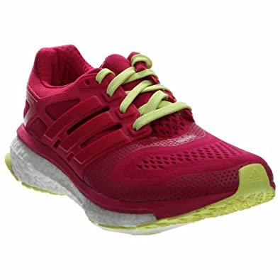 adidas Women's Energy Boost ESM Bold Pink/Frozen Yellow Athletic Shoe